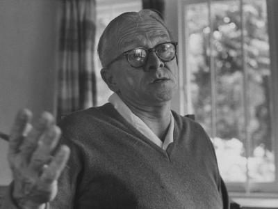 Author Alan Paton at Home--Photographic Print