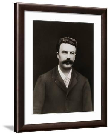 Author Guy De Maupassant-Nadar-Framed Photographic Print