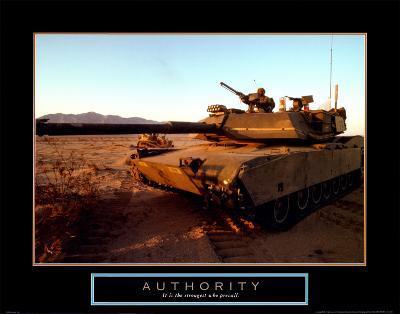 Authority: Tank--Art Print