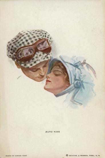 Auto Kiss--Giclee Print