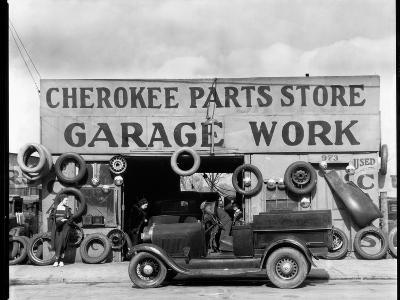 Auto Parts Shop, Atlanta, Georgia--Photographic Print