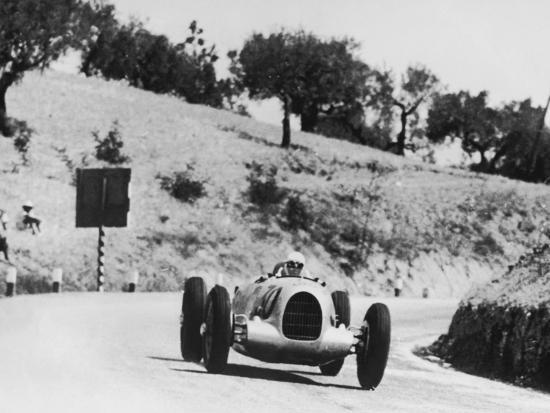Auto Racing--Photographic Print