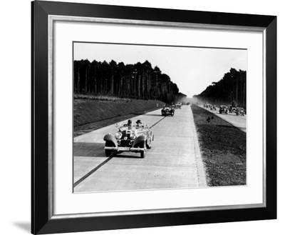 Autobahn Heaven--Framed Photographic Print
