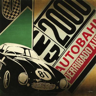 Autobahn-Kc Haxton-Art Print