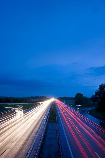 Autobahn-bernjuer-Photographic Print