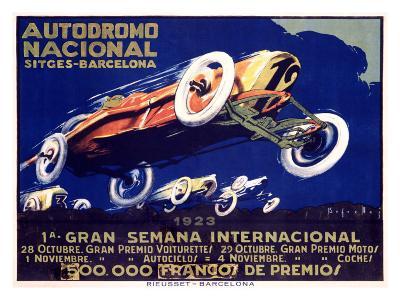 Autodromo National--Giclee Print