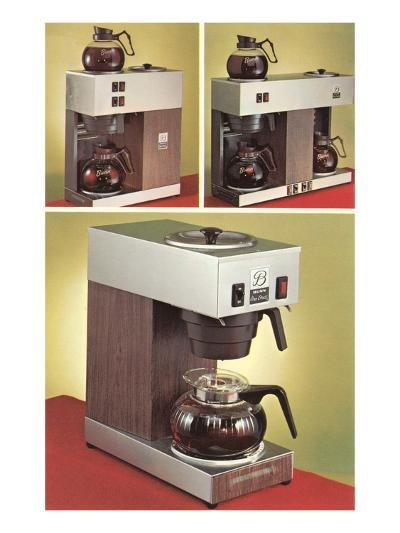 Automatic Coffee Makers--Art Print