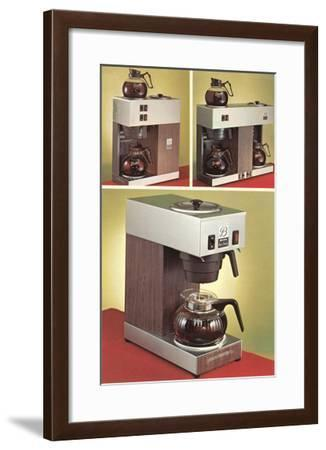 Automatic Coffee Makers--Framed Art Print