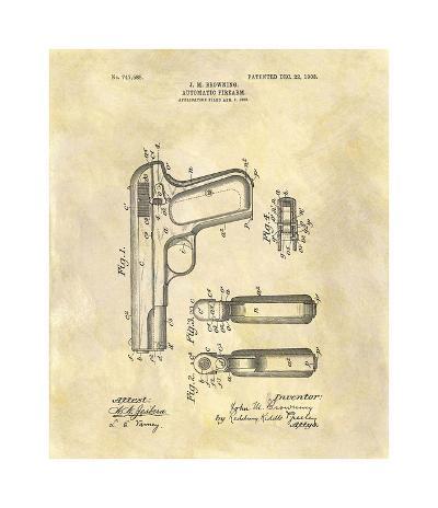 Automatic Firearm, 1902-Dan Sproul-Giclee Print