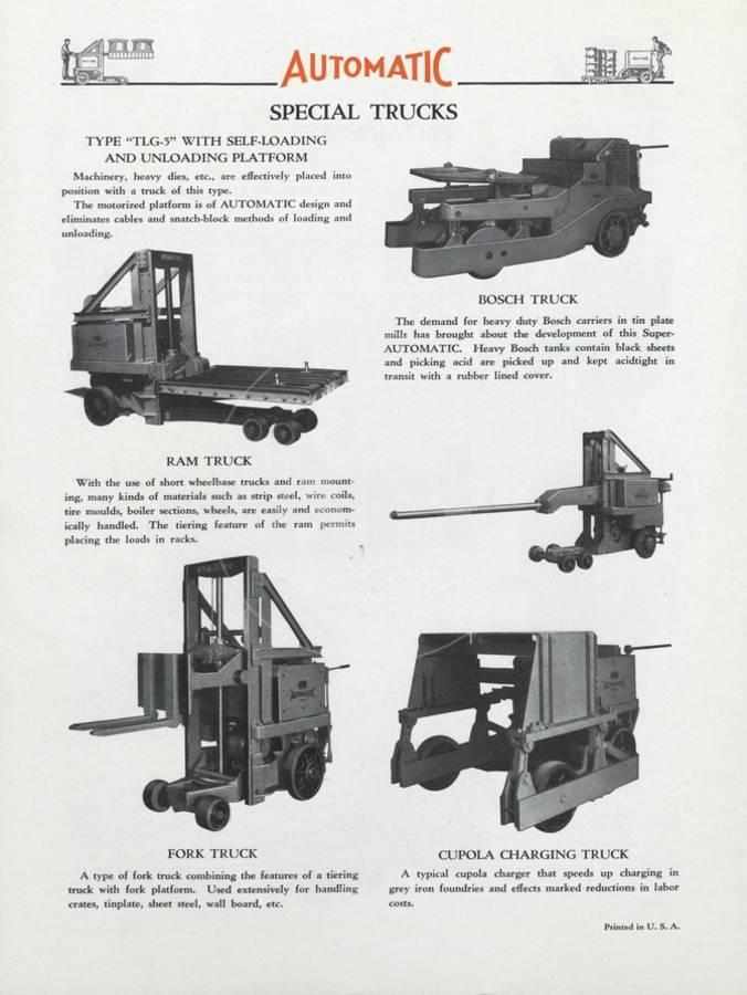 Automatic Transportation Company's Various Special Models of Automatic  Units Giclee Print by | Art com