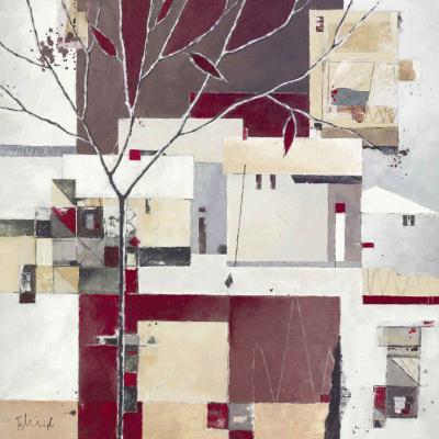 Automn Village I-Franz Heigl-Art Print
