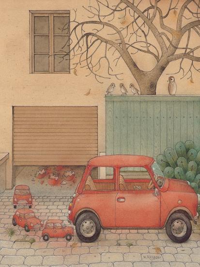 Automobile, 2005-Kestutis Kasparavicius-Giclee Print