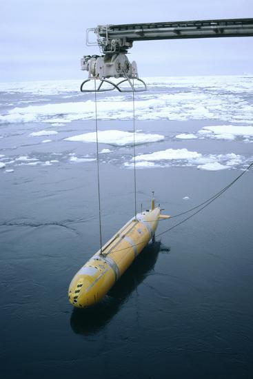 Autonomous Underwater Vehicle (Autosub)-David Vaughan-Photographic Print