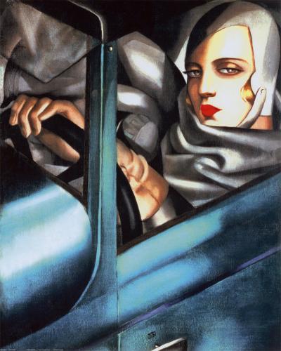 Autoportrait-Tamara de Lempicka-Art Print