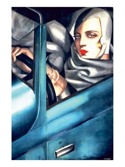 Autoportrait-Tamara de Lempicka-Premium Giclee Print