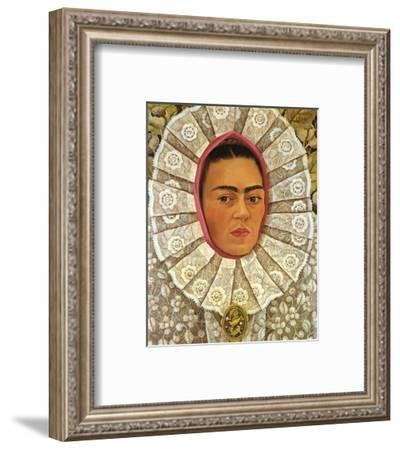 Autoritratto 1948-Frida Kahlo-Framed Art Print