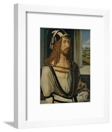 'Autorretrato', (Self-portrait), 1498, (c1934)-Albrecht Durer-Framed Giclee Print