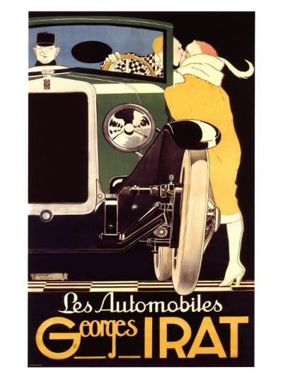 Autos George Irat--Giclee Print