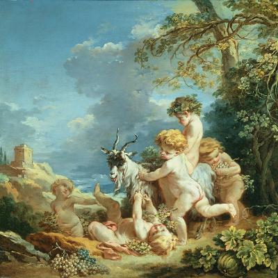 Autumn, 1731-Francois Boucher-Giclee Print
