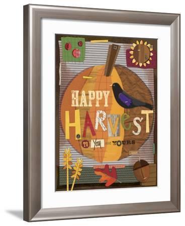 Autumn Abundance 7-Holli Conger-Framed Giclee Print