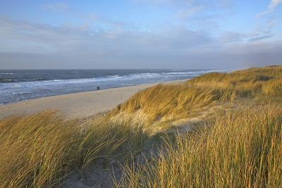 Autumn Afternoon on the Beach of the Dunes of Rantum-Uwe Steffens-Photographic Print
