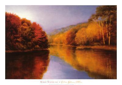 Autumn Afternoon Stillness-Robert Striffolino-Art Print