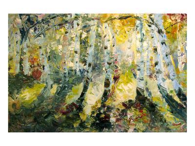 Autumn Aspen--Art Print