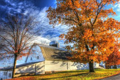 Autumn Barns-Robert Goldwitz-Photographic Print