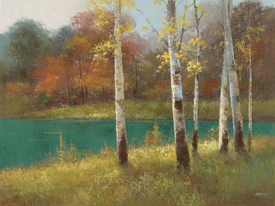 Autumn Birch--Premium Giclee Print