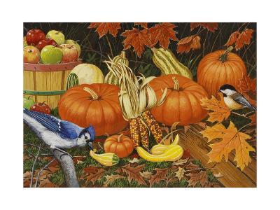 Autumn Bounty-William Vanderdasson-Giclee Print