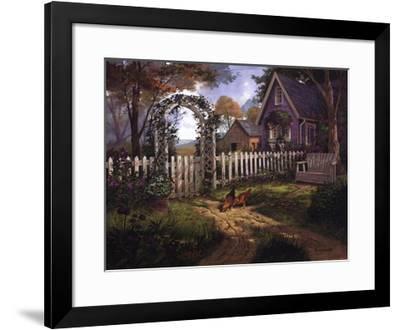 Autumn Breeze-Michael Humphries-Framed Art Print