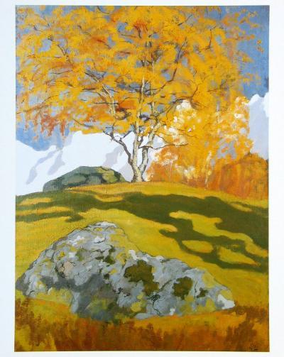 Autumn, c.1903-Giovanni Giacometti-Art Print