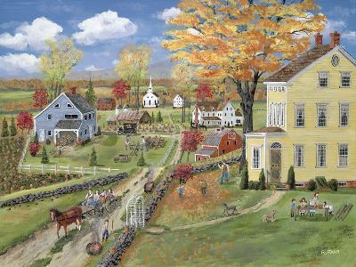 Autumn Chores-Bob Fair-Giclee Print