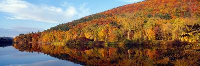 Autumn Colors Along Connecticut River, Brattleboro, Vermont--Photographic Print