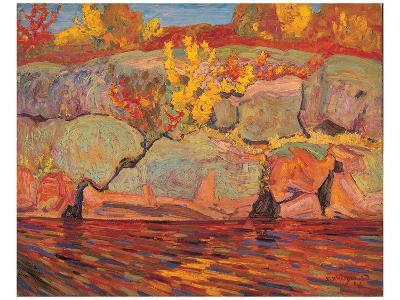Autumn Colours--Art Print