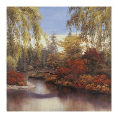 Autumn Crossing-Diane Romanello-Art Print