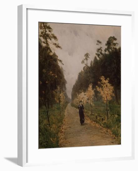 Autumn Day. Sokolniki, 1879-Isaak Ilyich Levitan-Framed Giclee Print