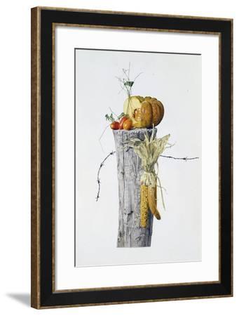 Autumn Elements-Joh Naito-Framed Giclee Print