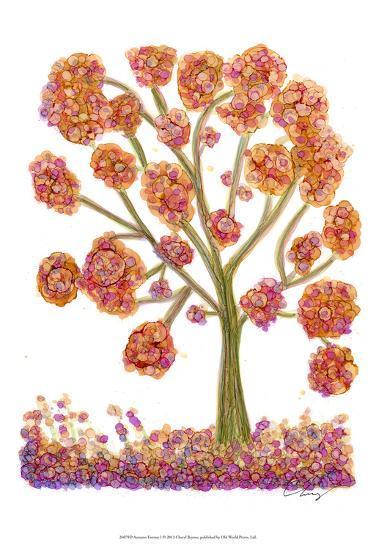 Autumn Fantasy I-Cheryl Baynes-Art Print