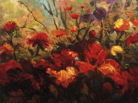 Autumn Florals-Kanayo Ede-Giclee Print