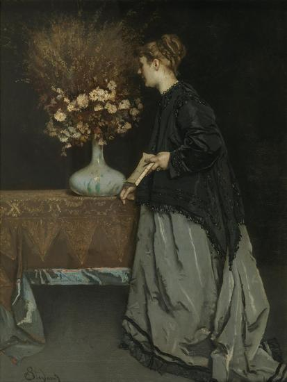 Autumn Flowers, 1867-Alfred Stevens-Giclee Print