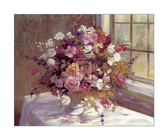 Autumn Flowers Art Print By Elizabeth Parsons Artcom