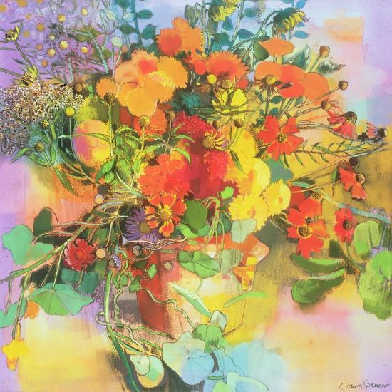 Autumn Flowers-Claire Spencer-Giclee Print