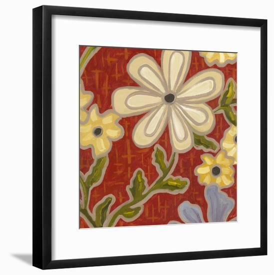 Autumn Garden-Karen Deans-Framed Art Print