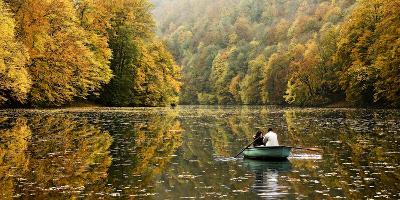 Autumn Idyll- Jimbi-Photographic Print