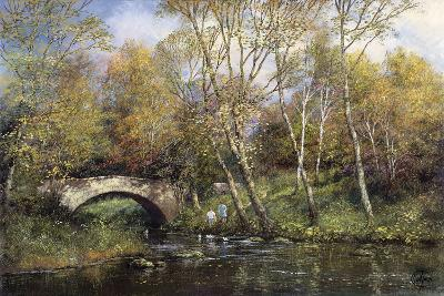 Autumn II-Clive Madgwick-Giclee Print