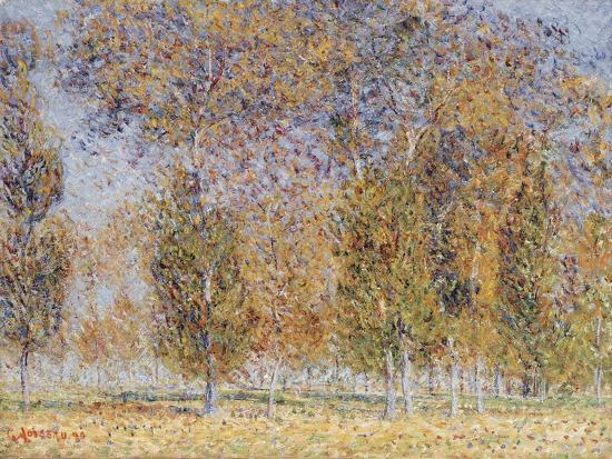 Autumn Impression, Saint-Cyr-Du-Vaudreuil, 1899-Gustave Loiseau-Giclee Print