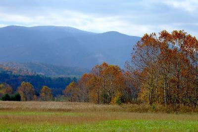 Autumn in Cades Cove, Smoky Mountains National Park, Tennessee, USA-Anna Miller-Photographic Print