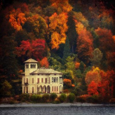 Autumn in My Garden-Philippe Sainte-Laudy-Photographic Print