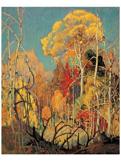Autumn in Orillia-Franklin Carmichael-Premium Giclee Print